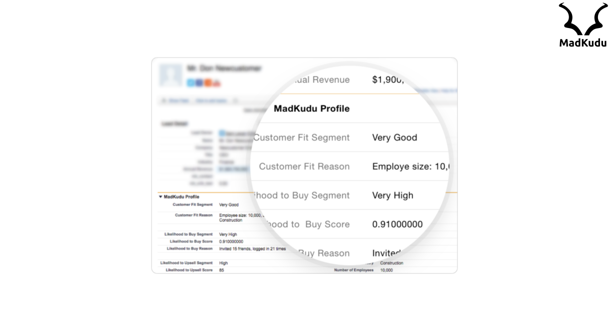 MadKudu - Sales & marketing alignment with predictive analytics