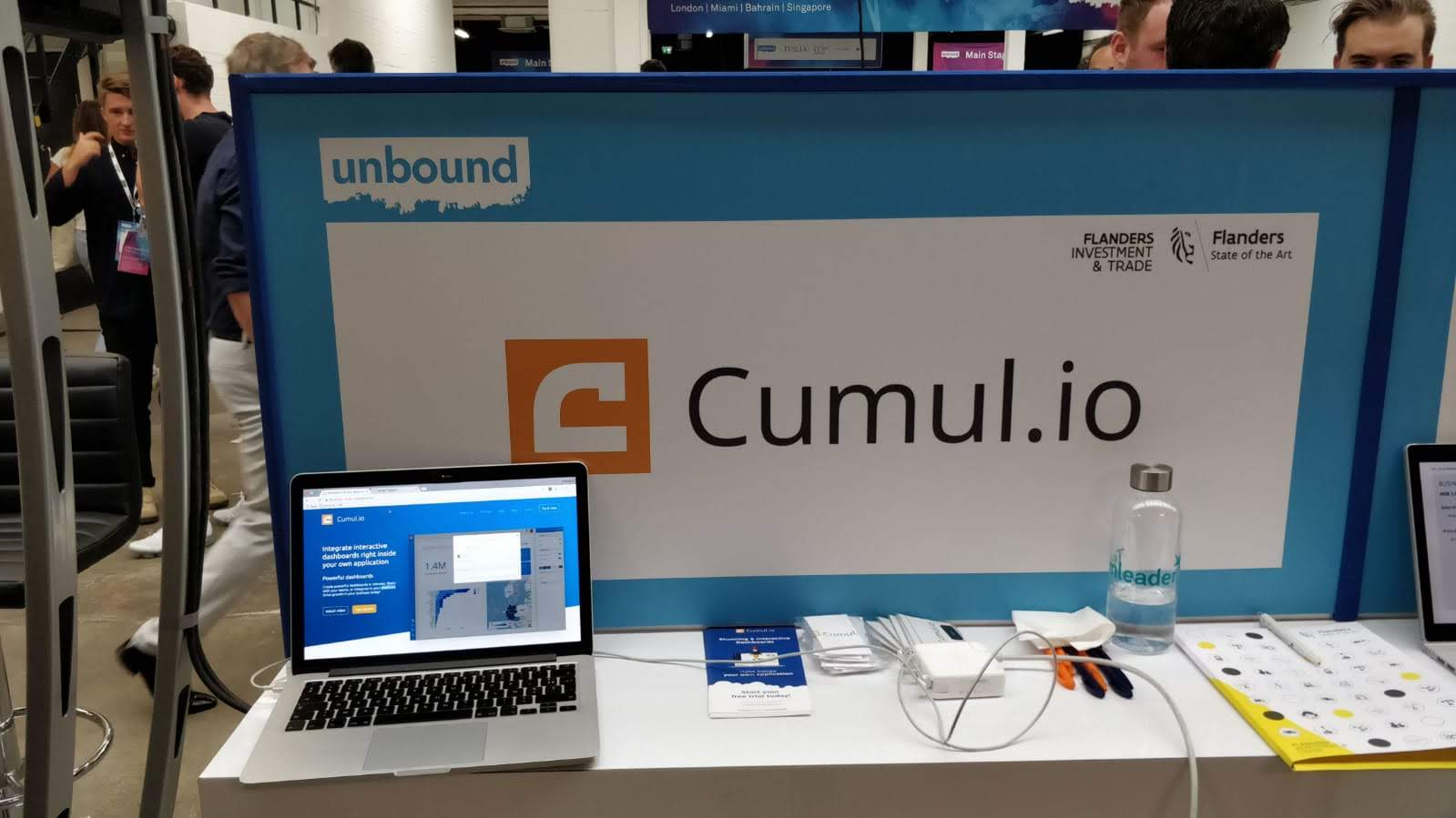 Cumul.io at Unbound London, introducing integrated analytics
