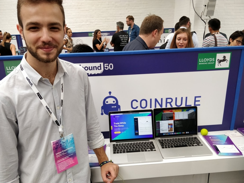 Coinrule meeting Cumul.io at Unbound London