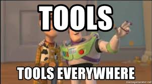 Tools everywhere
