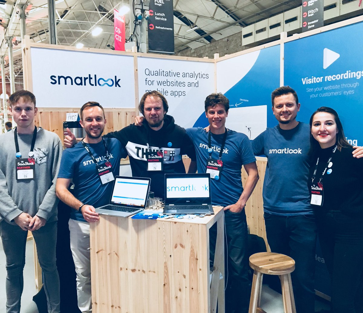 Smartlook at SaaStock