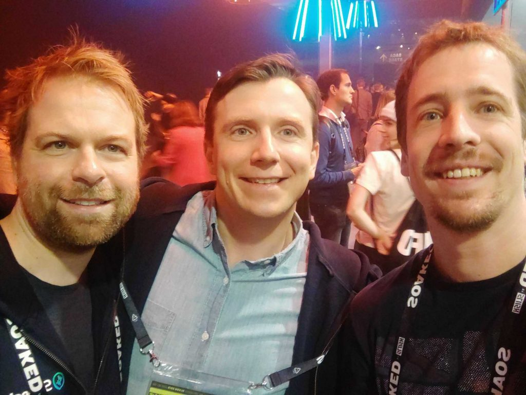 Cumul.io meets Speechly at Slush 2019.