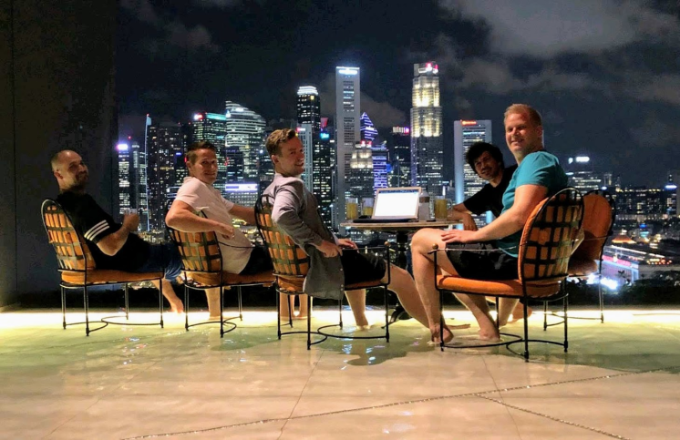Cumul.io & RecRight in Singapore.